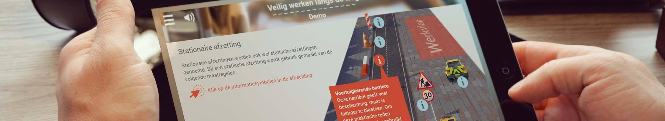 Veilig werken langs de weg e-learning